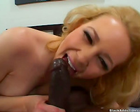 White horny white wife wears sweater to take jock from BBC