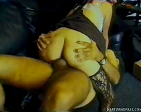 Majestic Latina hoe with mind blowing curves receives fiercely drilled by her client