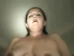 Compilation of homemade videos with my black cock sluts exposing her massive a-hole