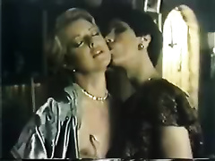 Awesome groupsex of hot and lascivious classic vintage strumpets