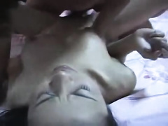 Lustful Asian nympho is having a vehement sex with her paramour