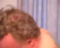 Bodacious GILF in dark nylons is having sex on camera