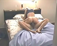 My fuckbuddy jumps on my pecker after fervid 69 oral sex sex