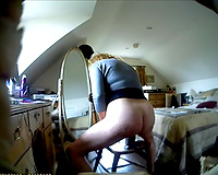 Another wild greatly intensive masturbation session with me
