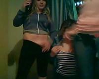 Super hawt Brazilian girls show off their large moist booties