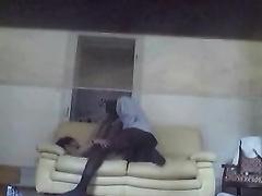 My cheating black cock sluts caught having sex on hidden camera