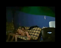 Skinny legal age teenager blows me on the sofa and we fuck on hidden web camera
