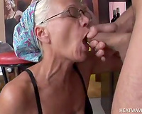 Shameless GILF receives mercilessly drilled from behind