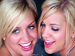 Beautiful Twins, Erotic twin sisters tease.