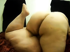 Homemade movie scene with me pounding my bulky wife's cum-hole unfathomable