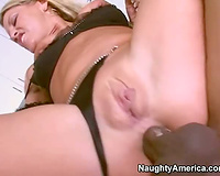Milf anal sex with darksome chap