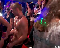 Wild dancing and priceless fucking at this club