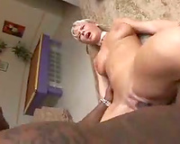 Bree Olsen groans with BBC inside her