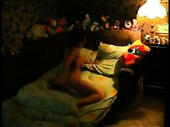 Hot pick up wife from the nightclub masturbates on my hidden web camera