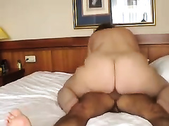 Chubby aged whore enjoys Male+Male+Female sex with me and my ally