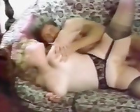 Horny and obscene slutwith large pantoons acquires shoved hard