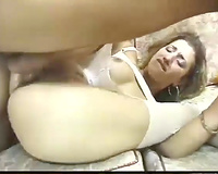Raunchy Brazilian whore doesn't mind having sex with 2 chaps