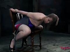 Kinky and big O lust femdom-goddess knows how to put on a show