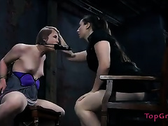 Kinky and big O lust femdom-goddess knows how to put on a show