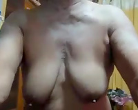 Asian grannie showed me her saggy whoppers and worn out love tunnel