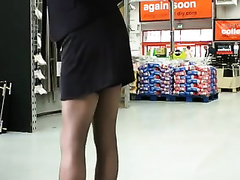 Bewitchingly sexy mother I'd like to fuck in hawt nylons knows how to make a dude lascivious