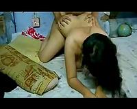 Doggy style sex with my Bangladeshi curvy hawt sweetheart