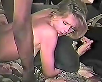 Black fellow is fucking the shit out of my constricted cum-hole with his BBC