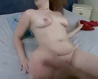 Fat gazoo whore and her dark paramour receive oral-stimulation