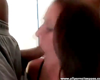 Hailey Young in the centre of interracial blowbang