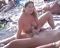 Just a enjoyable nudist beach compilation of sexually excited couples