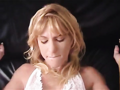 Unfaithful dirty slut wife lets her neighbour gangbang her in missionary position