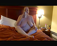 Busty big beautiful woman older white wife helping me make a porn episode