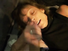 Cougar girl craves to be treated with new cumshot
