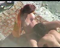 Redhead babe is hungry to engulf a wang of her partner