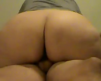 The wazoo on my GF is divine and this babe knows how to ride a cock