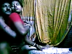 Horny Indian maid got screwed hard in her puss by boy-friend in her room