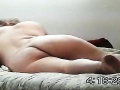 Homemade clip with me enjoying interracial anal sex