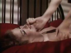 Raven haired konky lesbo seduces ehr hot golden-haired kooky
