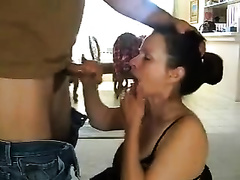 Amazing dark brown white wife acquires face-fucked by me in homemade clip
