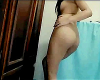 My sexual Asian girlfriend likes being undressed all the time