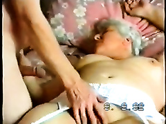 Me and my granny making love in the missionary position