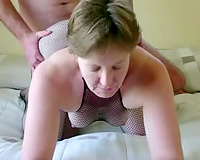 My yielding black cock sluts is really into having sex in doggy position