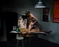 Two hawt and lustful nurses decided to have pleasure with the doctor