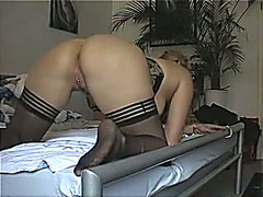 My amazing bride lets me toy her arse previous to I drill it