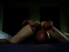 Amazing face-sitting homemade scene with my amateur wife and me