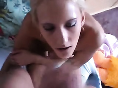 Czech BF copulates my taut pink cum-hole in missionary position