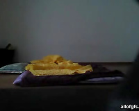 Hidden livecam dilettante sex tape of a youthful Asian hottie having sex