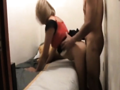 Super sexually excited doxy with wonderful arse loves it from behind