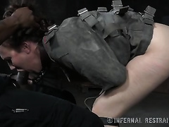 Sweet Married slut with pale skin pleases her taskmaster with a blowjob