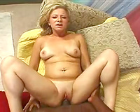 Curvy horny white wife boned in the sticky wet crack